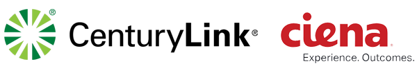Ciena + CenturyLink logos