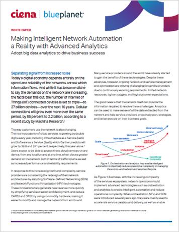 Making Intelligent Automation a Reality with Advanced Analytics